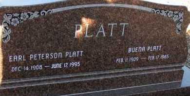 PLATT, BUENA - Apache County, Arizona | BUENA PLATT - Arizona Gravestone Photos