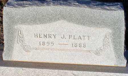 PLATT, HENRY J. - Apache County, Arizona | HENRY J. PLATT - Arizona Gravestone Photos