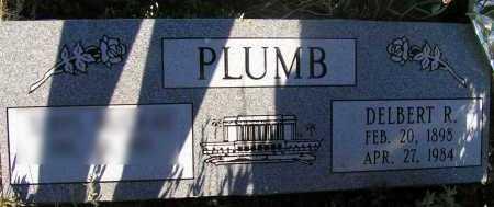 PLUMB, DELBERT R. - Apache County, Arizona | DELBERT R. PLUMB - Arizona Gravestone Photos