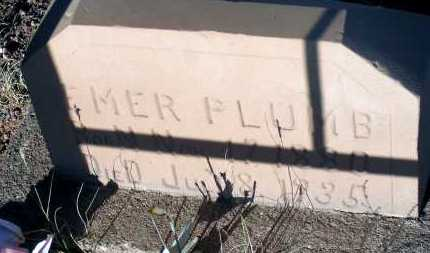 PLUMB, EMER - Apache County, Arizona | EMER PLUMB - Arizona Gravestone Photos