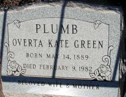 PLUMB, OVERTA KATE - Apache County, Arizona | OVERTA KATE PLUMB - Arizona Gravestone Photos