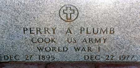 PLUMB, PERRY A. - Apache County, Arizona | PERRY A. PLUMB - Arizona Gravestone Photos