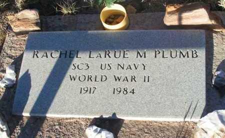 PLUMB, RACHEL LARUE M. - Apache County, Arizona   RACHEL LARUE M. PLUMB - Arizona Gravestone Photos