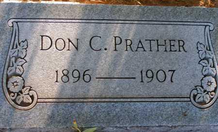 PRATHER, DON C. - Apache County, Arizona | DON C. PRATHER - Arizona Gravestone Photos