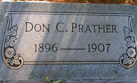 PRATHER, DON C. - Apache County, Arizona | DON C. PRATHER - Arizona Gravestone Photos