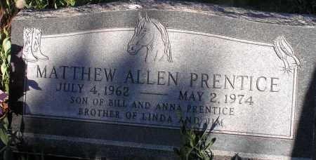 PRENTICE, MATTHEW ALLEN - Apache County, Arizona | MATTHEW ALLEN PRENTICE - Arizona Gravestone Photos