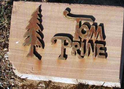 PRINE, TOM - Apache County, Arizona | TOM PRINE - Arizona Gravestone Photos
