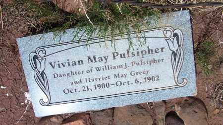 PULSIPHER, VIVIAN MAY - Apache County, Arizona | VIVIAN MAY PULSIPHER - Arizona Gravestone Photos