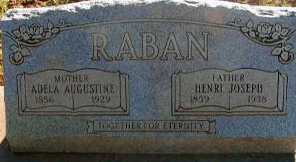 RABAN, HENRI JOSEPH - Apache County, Arizona | HENRI JOSEPH RABAN - Arizona Gravestone Photos