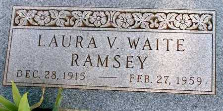 RAMSEY, LAURA V. - Apache County, Arizona | LAURA V. RAMSEY - Arizona Gravestone Photos