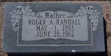 RANDALL, ROGER A. - Apache County, Arizona   ROGER A. RANDALL - Arizona Gravestone Photos