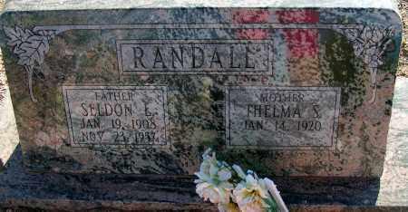 RANDALL, SELDON L. - Apache County, Arizona | SELDON L. RANDALL - Arizona Gravestone Photos