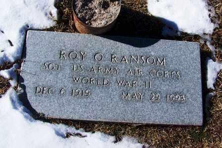 RANSOM, ROY O - Apache County, Arizona | ROY O RANSOM - Arizona Gravestone Photos