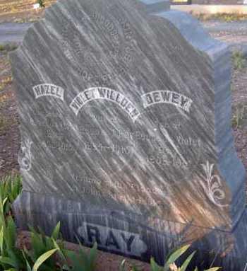 RAY, HAZEL - Apache County, Arizona | HAZEL RAY - Arizona Gravestone Photos