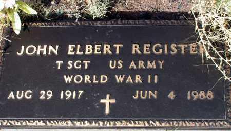 REGISTER, JOHN ELBERT - Apache County, Arizona | JOHN ELBERT REGISTER - Arizona Gravestone Photos