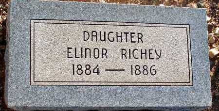 RICHEY, ELINOR - Apache County, Arizona | ELINOR RICHEY - Arizona Gravestone Photos