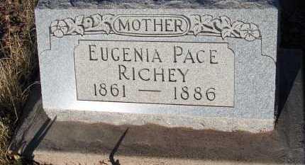 RICHEY, EUGENIA PACE - Apache County, Arizona | EUGENIA PACE RICHEY - Arizona Gravestone Photos