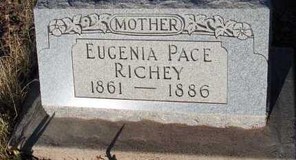 RICHEY, EUGENIA PACE - Apache County, Arizona | EUGENIA PACE RICHEY - Arizona Gravestone Photos