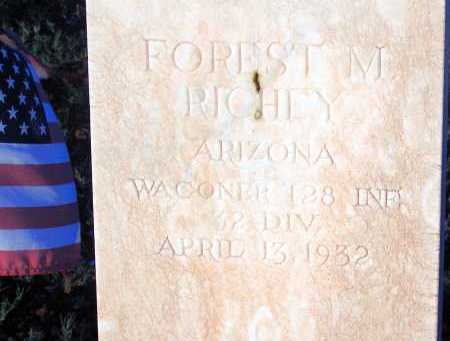 RICHEY, FOREST M. - Apache County, Arizona   FOREST M. RICHEY - Arizona Gravestone Photos
