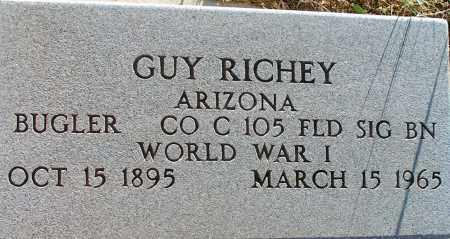 RICHEY, GUY - Apache County, Arizona | GUY RICHEY - Arizona Gravestone Photos