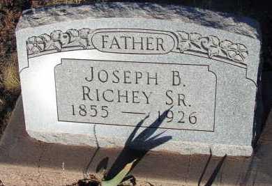 RICHEY, JOSEPH B., SR. - Apache County, Arizona | JOSEPH B., SR. RICHEY - Arizona Gravestone Photos