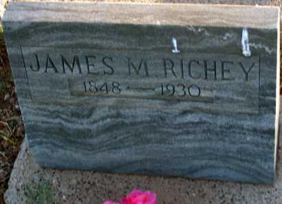 RICHEY, JAMES M. - Apache County, Arizona   JAMES M. RICHEY - Arizona Gravestone Photos