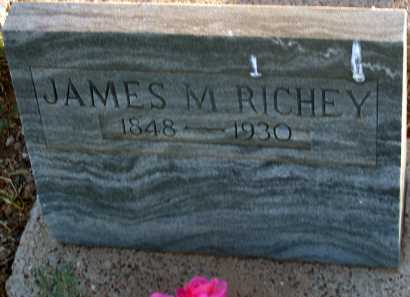 RICHEY, JAMES M. - Apache County, Arizona | JAMES M. RICHEY - Arizona Gravestone Photos