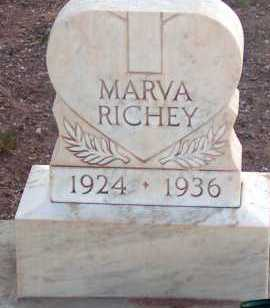 RICHEY, MARVA - Apache County, Arizona | MARVA RICHEY - Arizona Gravestone Photos