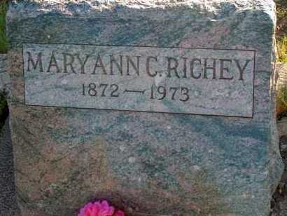 RICHEY, MARYANN C. - Apache County, Arizona | MARYANN C. RICHEY - Arizona Gravestone Photos