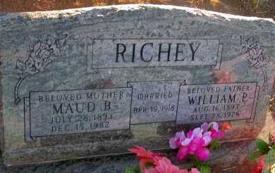 RICHEY, WILLIAM P. - Apache County, Arizona | WILLIAM P. RICHEY - Arizona Gravestone Photos