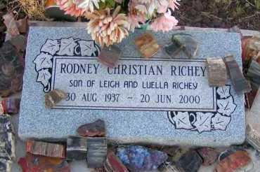 RICHEY, RODNEY CHRISTIAN - Apache County, Arizona | RODNEY CHRISTIAN RICHEY - Arizona Gravestone Photos