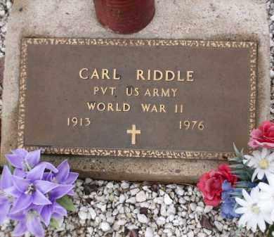 RIDDLE, CARL - Apache County, Arizona   CARL RIDDLE - Arizona Gravestone Photos