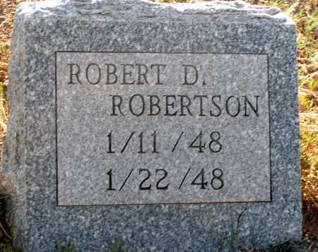 ROBERTSON, ROBERT D. - Apache County, Arizona | ROBERT D. ROBERTSON - Arizona Gravestone Photos