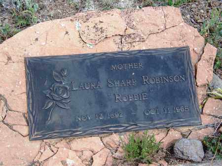 "SHARP ROBINSON, LAURA ""ROBBIE"" - Apache County, Arizona 