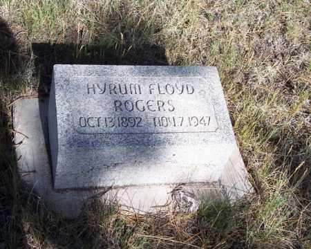 ROGERS, HYRUM FLOYD - Apache County, Arizona | HYRUM FLOYD ROGERS - Arizona Gravestone Photos