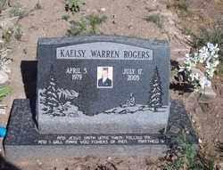 ROGERS, KAELSY WARREN - Apache County, Arizona | KAELSY WARREN ROGERS - Arizona Gravestone Photos