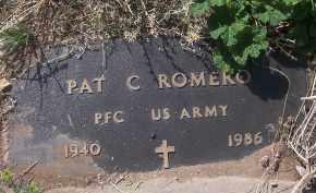 ROMERO, PAT C - Apache County, Arizona | PAT C ROMERO - Arizona Gravestone Photos