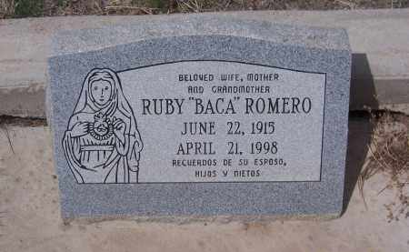 ROMERO, RUBY - Apache County, Arizona | RUBY ROMERO - Arizona Gravestone Photos