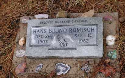 ROMISCH, HANS BRUNO - Apache County, Arizona | HANS BRUNO ROMISCH - Arizona Gravestone Photos