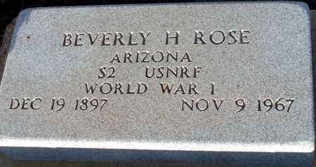 ROSE, BEVERLY H - Apache County, Arizona | BEVERLY H ROSE - Arizona Gravestone Photos