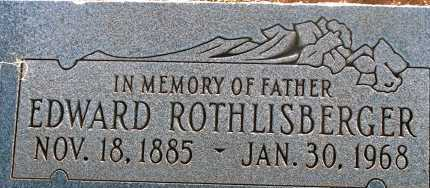 ROTHLISBERGER, EDWARD - Apache County, Arizona | EDWARD ROTHLISBERGER - Arizona Gravestone Photos