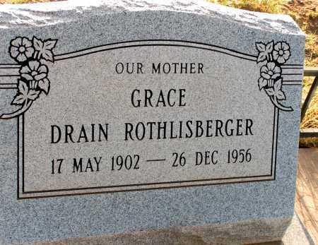 DRAIN ROTHLISBERGER, GRACE - Apache County, Arizona   GRACE DRAIN ROTHLISBERGER - Arizona Gravestone Photos