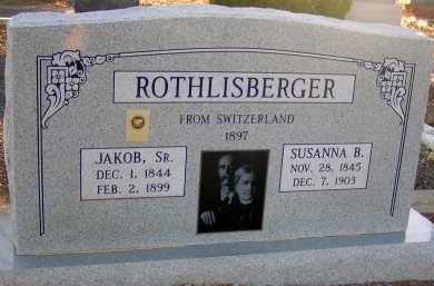 ROTHLISBERGER, JAKOB, SR. - Apache County, Arizona   JAKOB, SR. ROTHLISBERGER - Arizona Gravestone Photos