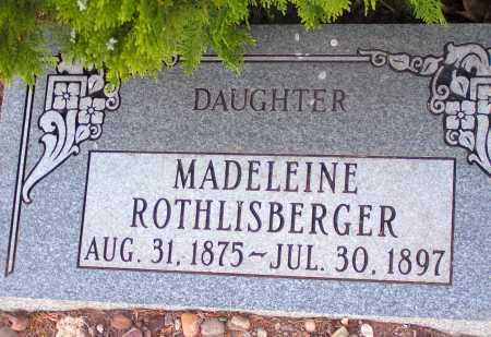 ROTHLISBERGER, MADELEINE - Apache County, Arizona | MADELEINE ROTHLISBERGER - Arizona Gravestone Photos