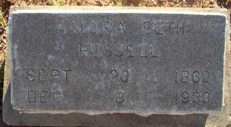 RUSSELL, AMASA SETH - Apache County, Arizona   AMASA SETH RUSSELL - Arizona Gravestone Photos