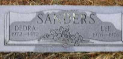 SANDERS, DEDRA - Apache County, Arizona | DEDRA SANDERS - Arizona Gravestone Photos