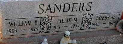 SANDERS, BOBBY D. - Apache County, Arizona | BOBBY D. SANDERS - Arizona Gravestone Photos