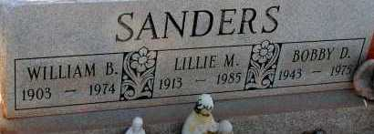 SANDERS, LILLIE M. - Apache County, Arizona | LILLIE M. SANDERS - Arizona Gravestone Photos