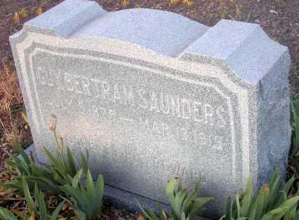SAUNDERS, GUY BERTRAM - Apache County, Arizona | GUY BERTRAM SAUNDERS - Arizona Gravestone Photos