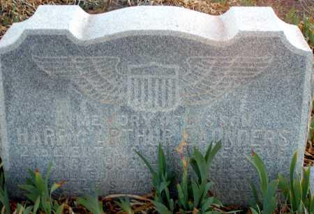 SAUNDERS, HARRY ARTHUR - Apache County, Arizona | HARRY ARTHUR SAUNDERS - Arizona Gravestone Photos
